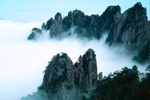 Taebaek Mountain of Qingling