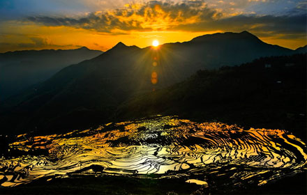 Youxi Terraced Fields in Fujian Province
