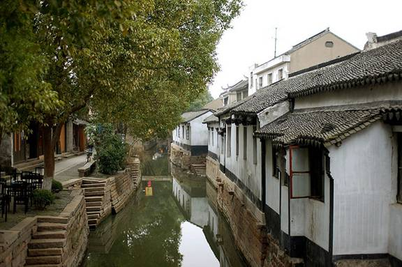 Another Idyllic Scene from an Unforgettably Idyllic Luzhi Water Town!