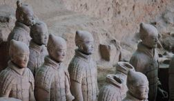 Terracotta Army frozen in time