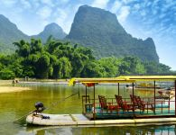 Summer days on the Li River of Guilin