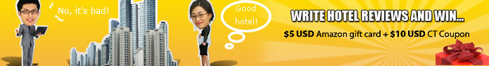 Write hotel reviews and win