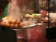 Food Stall at the Muslim Quarter
