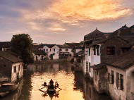 Boating in Tongli