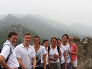 Student Group Visiting the Great Wall