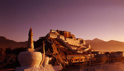 The Potala Palace in Lhasa