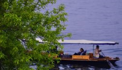 Enjoy a boat trip in the West Lake