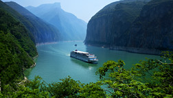 Crusing along the Yangtze River