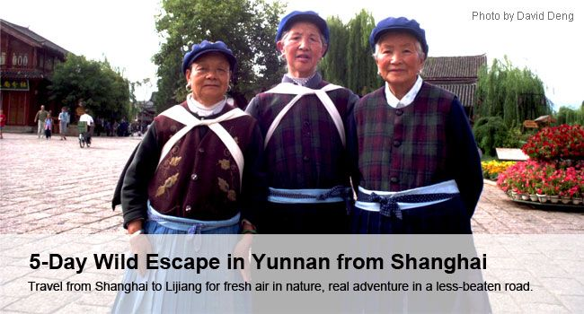 5-Day Wild Escape in Yunnan from Shanghai