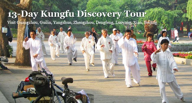 13-day Kungfu Discovery Tour