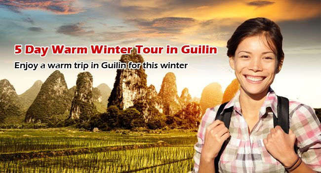 5-Day Warm Winter Tour in Guilin