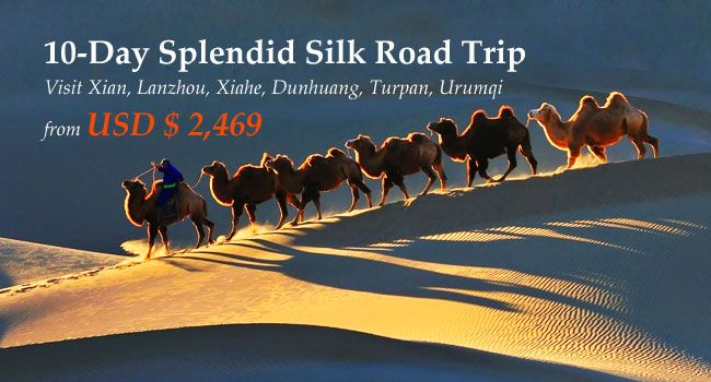 10-Day Splendid Silk Road Trip