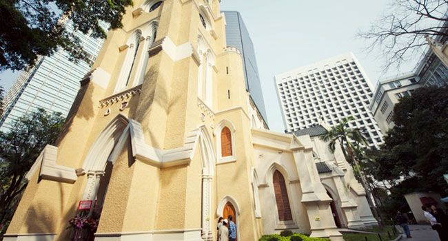 Hong Kong St.John Cathedral