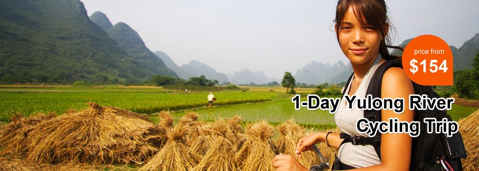 1-Day Guilin Yulong River Cycling Trip