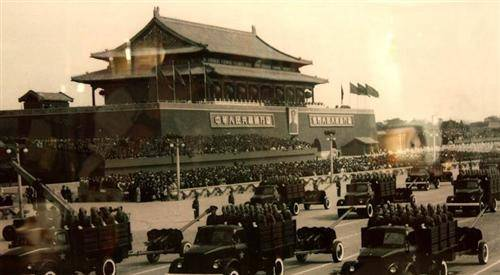 Tiananmen Square in the 1950's