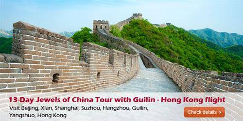Jewels of China Tour with Guilin - Hong Kong flight