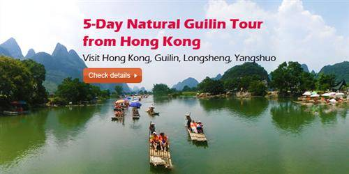 5-Day Natural Guilin Tour from Hong Kong