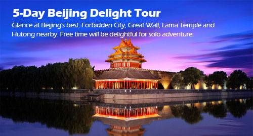 5-day Beijing Delight Tour