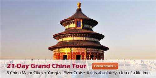 21-Day Grand China Tour