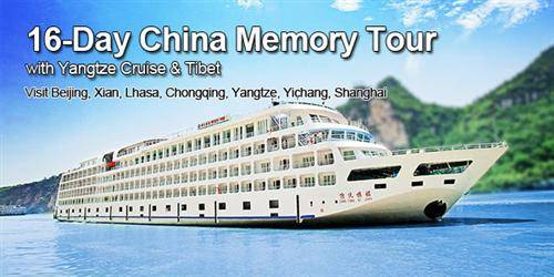 Memories of China with Yangtze Cruise & Tibet Tour