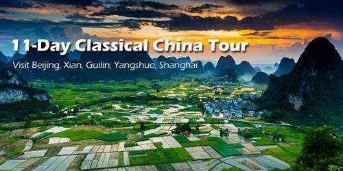 11-Day Classical China Tour