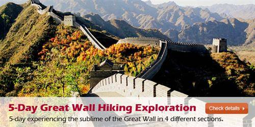 5-Day Great Wall Hiking Exploration