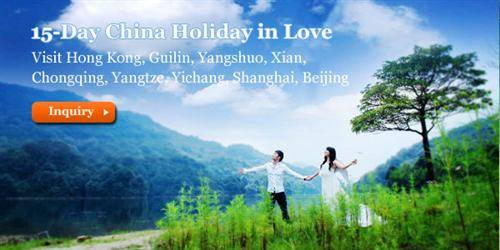 15-Day China Holiday in Love