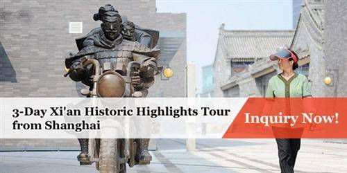3-Day Xi'an Historic Highlights from Shanghai