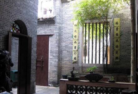 Inside an ancient house in Xiguan