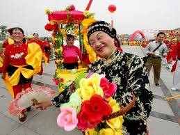 The Chinese Festival of Flower