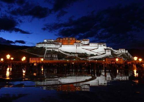 The Night of the Potala Palace