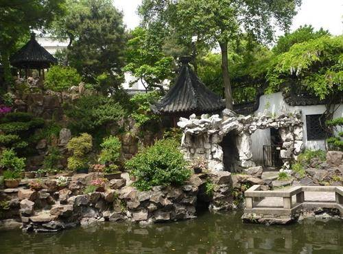 the Yuyuan Garden