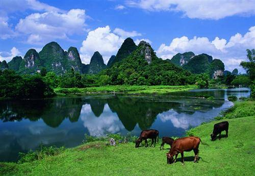 Guilin in summer