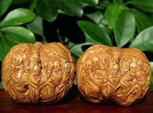 Nut Carvings