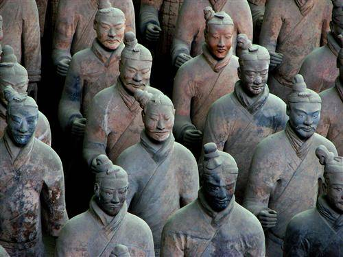 The Terra-Cotta Warriors