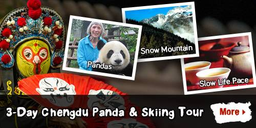 3-Day Chengdu Panda & Skiing Tour