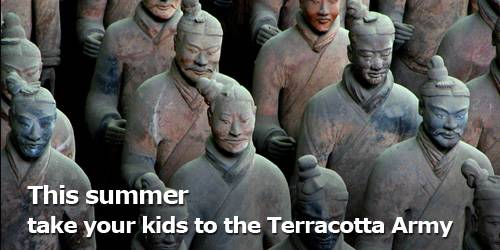 Your kids will love to see the Terracotta Army!