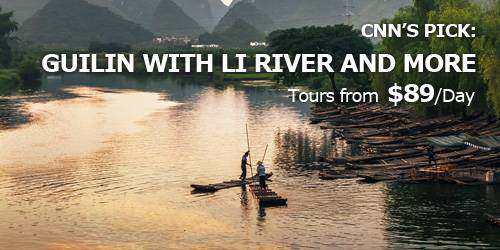 CNN's Most Beautiful River, Li River in Guilin